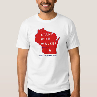 I Stand With Scott Walker Tshirts