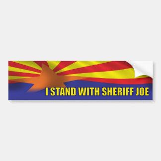 I Stand with Sheriff Joe - Support Arizona Bumper Sticker