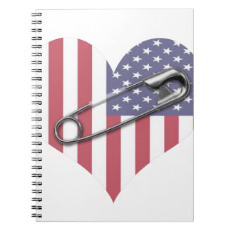 I Stand With You - Safety Pin Notebook