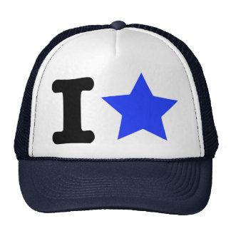 I star trucker hat