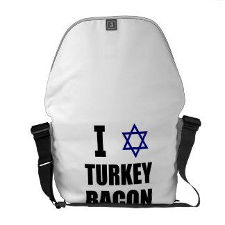 I Star Turkey Bacon Messenger Bag