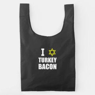 I Star Turkey Bacon Reusable Bag
