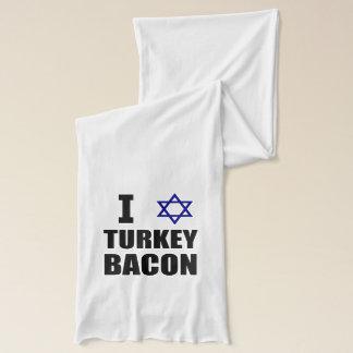 I Star Turkey Bacon Scarf