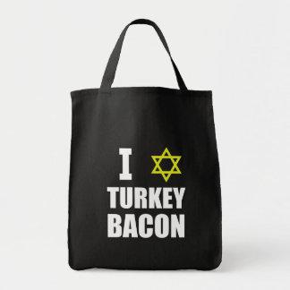 I Star Turkey Bacon Tote Bag