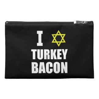 I Star Turkey Bacon Travel Accessory Bags