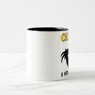 I Stare Back - Goat Two-Tone Coffee Mug