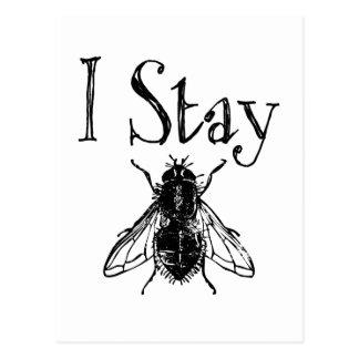 I Stay Fly Postcard