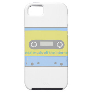 I STEAL MUSIC OFF THE INTERNET CASSETTE iPhone SE/5/5s CASE