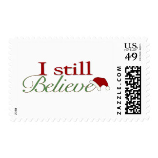 I Still Believe In Santa Postage