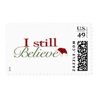 I Still Believe In Santa Stamps
