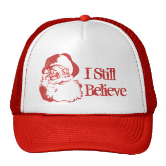 I Still Believe Santa Claus Retro Funny hat