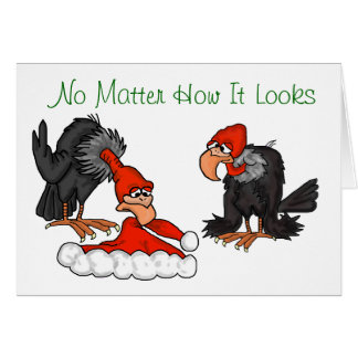 I Still Believe Vultures Christmas Card