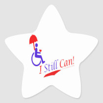 I Still Can!, star sticker
