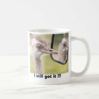 I still got it !!! classic white coffee mug