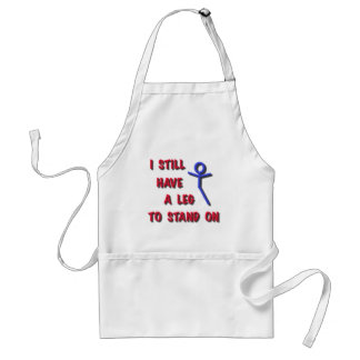 I still have a leg to stand on stick figure .png adult apron