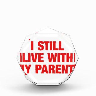 I still live with my parents award