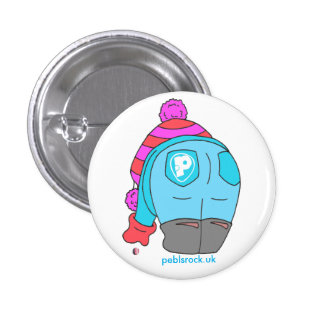 I stoop for Sea Glass badge Pinback Button