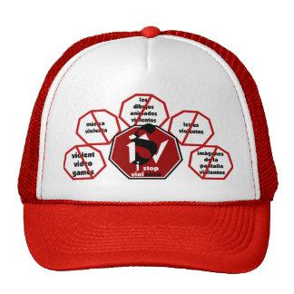 I Stop Violence© Cap Espanol Trucker Hat