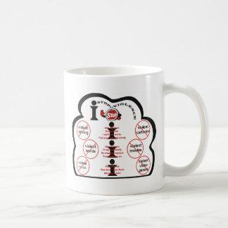 I Stop Violence Coffee Mug