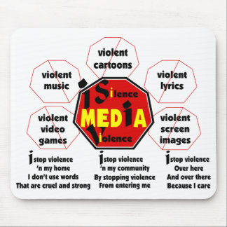 I Stop Violence© Mouse Pad