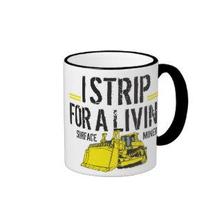 I STRIP FOR A LIVING MUGS