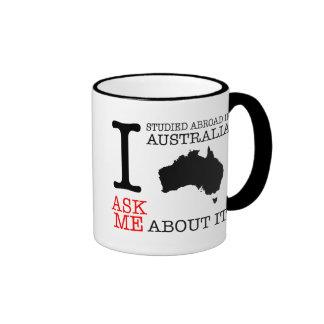 I Studied Abroad in Australia! Ringer Coffee Mug