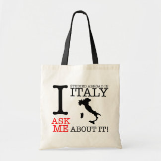 I Studied Abroad in Italy Tote Budget Tote Bag