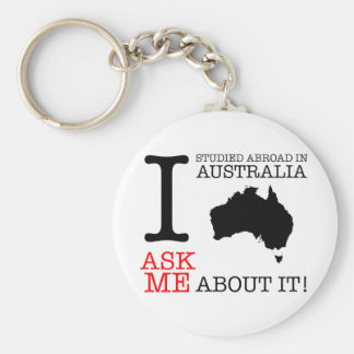I Studied in Australia! Keychain