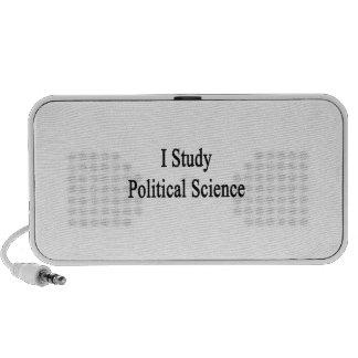 I Study Political Science Mp3 Speaker