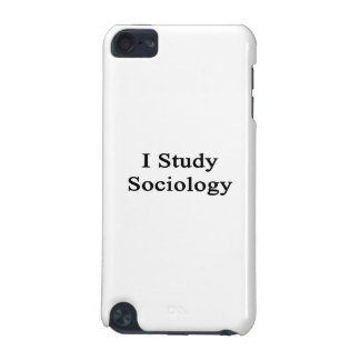 I Study Sociology iPod Touch (5th Generation) Cover