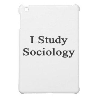 I Study Sociology iPad Mini Cases