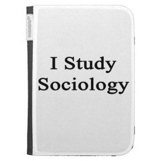 I Study Sociology Kindle Cases