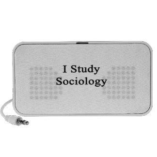 I Study Sociology Mini Speakers