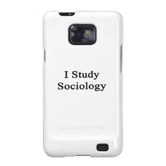 I Study Sociology Samsung Galaxy Cover
