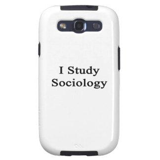 I Study Sociology Samsung Galaxy SIII Case