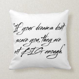 I su sueño no le asusta, ellos no es eno grande almohada