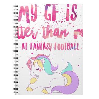 I Suck At Fantasy Football Short-Sleeve Unisex T-S Notebook