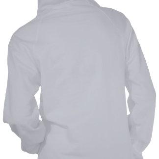 I sudadera con capucha del jersey del paño grueso