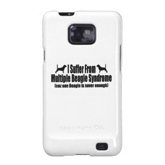 I Suffer From Multiple Beagle Syndrome Galaxy SII Case