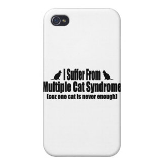 I Suffer From Multiple Cat Syndrome iPhone 4/4S Cases