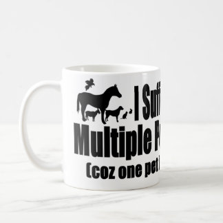 I Suffer From Multiple Pet Syndrome Classic White Coffee Mug