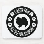 I Suffer From Multiple Pomeranian Syndrome Mouse Mat