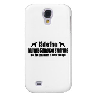 I Suffer From Multiple Schnauzer Syndrome Galaxy S4 Cases