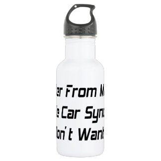 I Suffer From Mutiple Muscle Car Syndrome And I Do 18oz Water Bottle