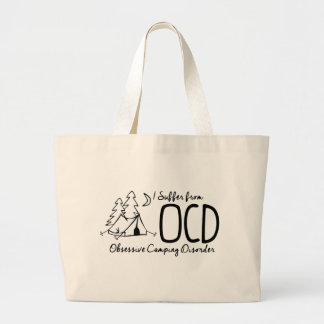 I Suffer From OCD - Obsessive Camping Disorder Jumbo Tote Bag