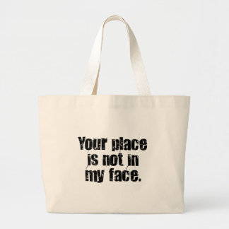 I suggest that you get out of my face (2) tote bag