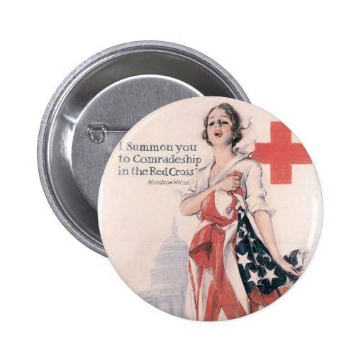 I Summon You To Comradeship Pinback Button