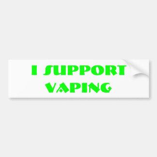 I SUPORT VAPING PEGATINA PARA AUTO