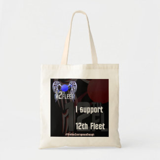 I support 12th Fleet Tote Bag