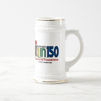 I Support 1 In 150 & My Grandchildren AUTISM Mugs